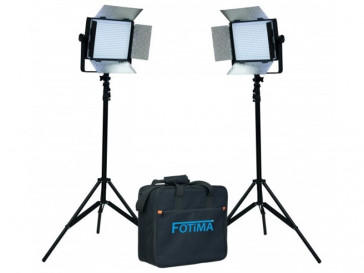 KIT LED ESTUDIO FTL-600 2x600 FOTIMA