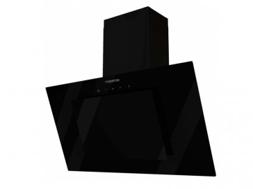 CAMPANA MEPAMSA DECORATIVA PARED 70CM NEGRA LED ECLIPSE 70 68043
