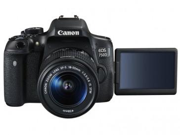 CAMARA REFLEX CANON 750D + 18/55 IS STM + EF50 F1.8 STM