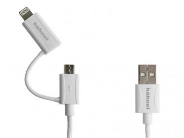 CABLE USB 2-EN-1 10006520 HAHNEL