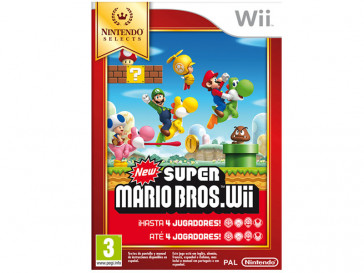JUEGO WII NEW SUPER MARIO BROS SELECTS NINTENDO