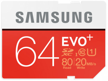 SDXC EVO+ 64GB MB-SC64D/EU SAMSUNG