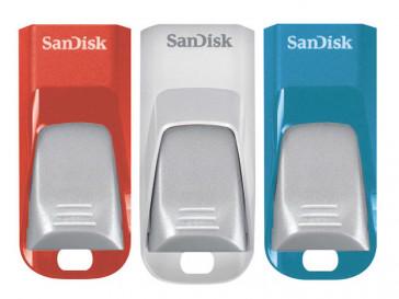 PACK 3 USB 16GB CRUZER EDGE (SDCZ51-016G-E46T) SANDISK
