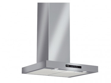CAMPANA BOSCH DECORATIVA PARED 60CM INOX HALOGENA DWB06W651