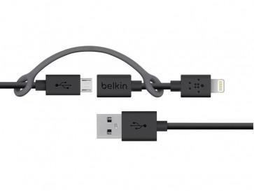 CABLE MICRO USB F8J080BT03-BLK BELKIN