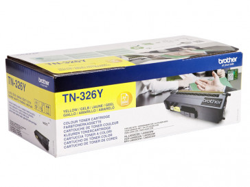 CARTUCHO TONER AMARILLO TN326Y BROTHER