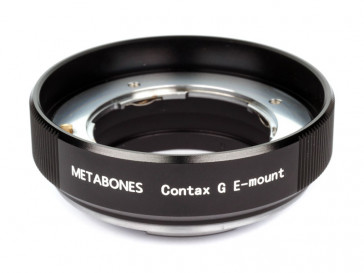 ADAPTADOR CONTAX G TO SONY E-MOUNT METABONES