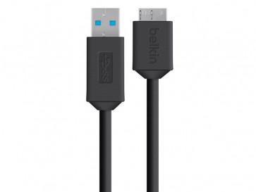 CABLE USB F3U166BT03-BLK BELKIN