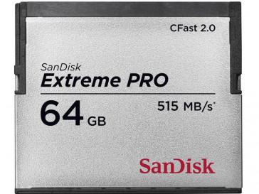 EXTREME PRO CFAST 2.0 64GB (SDCFSP-064G-G46B) SANDISK