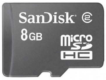 MICRO SDHC 8GB CON ADAPTADOR (SDSDQB-008G-B35) SANDISK