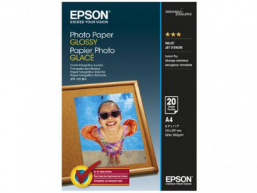 PAPEL GLOSSY A4 20 HOJAS C13S042538 EPSON