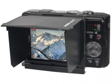 "PARASOL DIGISHIELD LCD 3"" NEGRO KAISER"