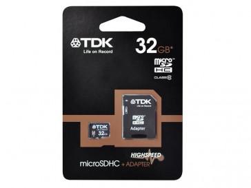 MICRO SDHC 32GB CLASE 10 + ADAPTADOR TDK