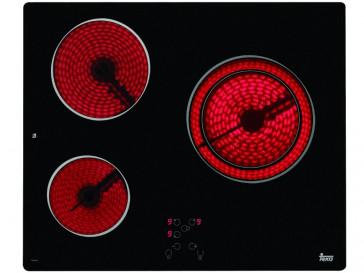 PLACA VITROCERAMICA TEKA TB-610 60CM 3 ZONAS DE COCCION SIN MARCO