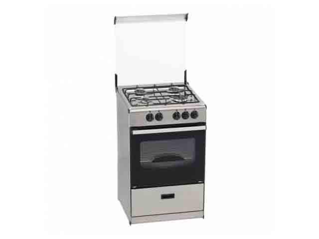 Tensai cocina tensai 4 quemadores encimera y horno a gas for Cocinas de gas butano sin horno