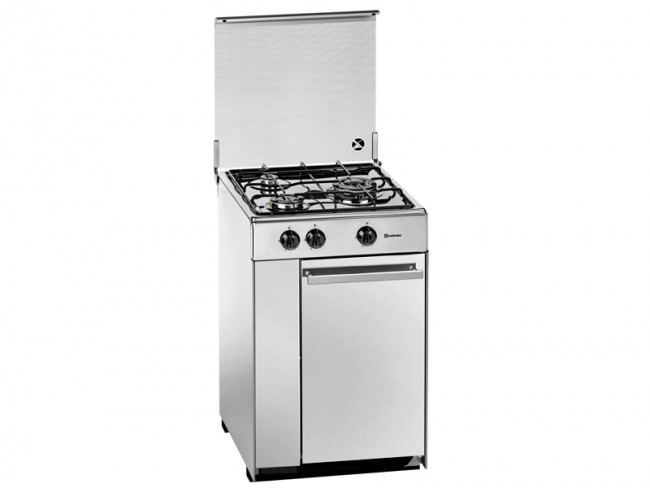 Meireles cocina meireles 3 quemadores encimera sin horno a for Cocinas de gas butano sin horno