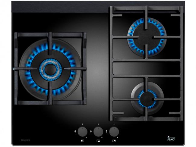 Teka placa de cocina teka cgw lux 60 3g ai al tr nat - Placas de gas natural ...