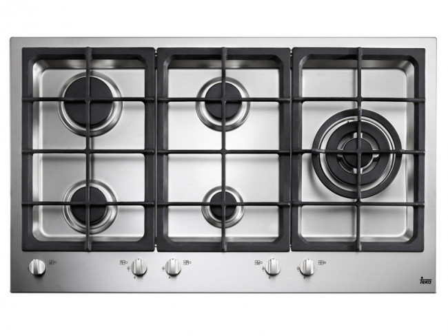 Teka placa de cocina teka ew 90 5g ai al tr gas natural 87cm 5 quemadores placas de cocina - Placa cocina gas natural ...