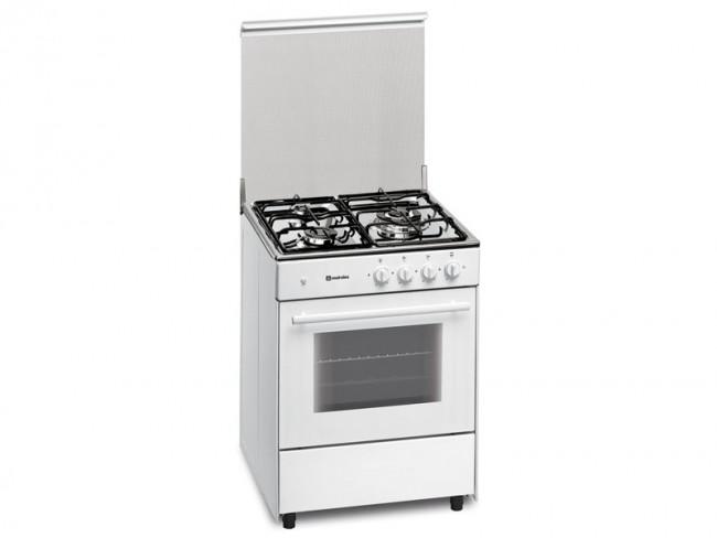 Meireles cocina meireles 3 quemadores encimera y horno a gas butano propano g 603 w blanco - Encimeras de cocina de gas butano ...