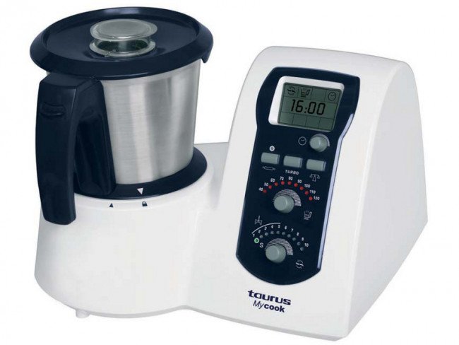 Robot de cocina mycook taurus for Robot cocina taurus mycook
