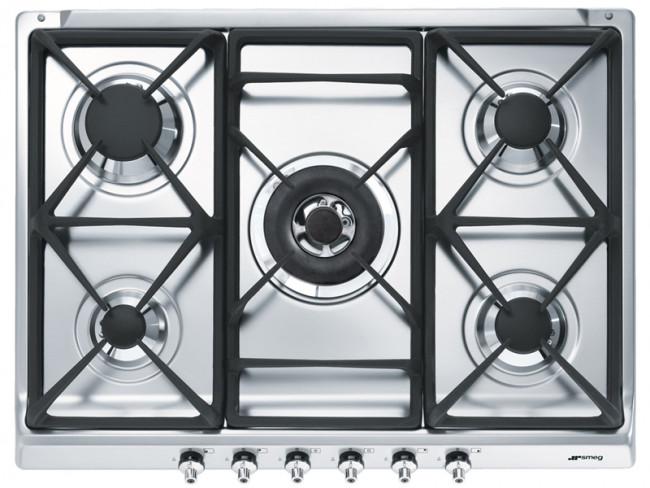 Se70sgh5 smeg encimera - Placa cocina gas natural ...