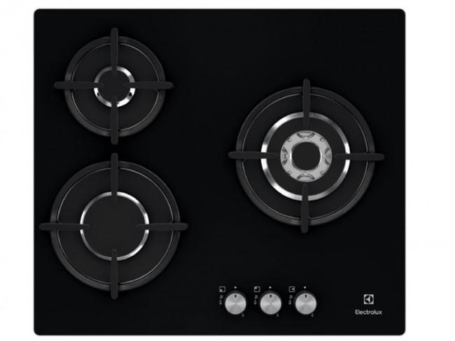 Electrolux placa de cocina electrolux egt6633nok gas - Placa cocina gas natural ...