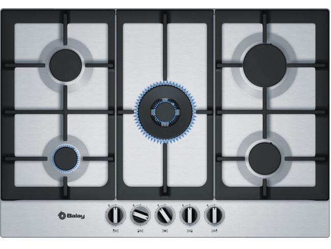 Balay placa de cocina balay 3etx676hb gas butano 75cm 5 - Cocinas de gas butano balay ...