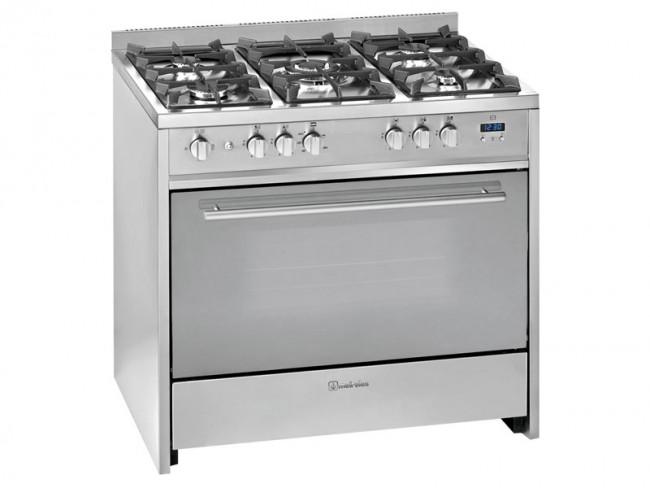 Meireles cocina meireles 5 quemadores encimera y horno a for Cocina encimera a gas