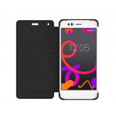 FUNDA ORIGINAL DUO AQUARIS M5 NEGRA BQ