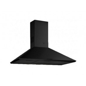 CAMPANA TEKA DECORATIVA PARED 60CM NEGRA INCANDESCENTE DBB-60 40460402