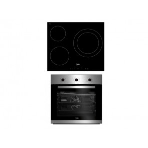 HORNO MULTIFUNCION + PLACA DE INDUCCION BEKO BSE22121X