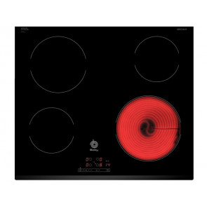 PLACA VITROCERAMICA BALAY 3EB720LR 60CM 4 ZONAS DE COCCION MARCO BISELADO DELANTERO