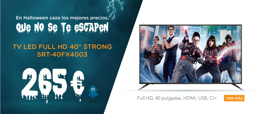 oferta televisor strong