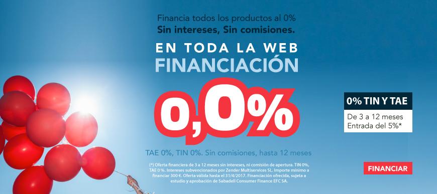 Financiacion al 0