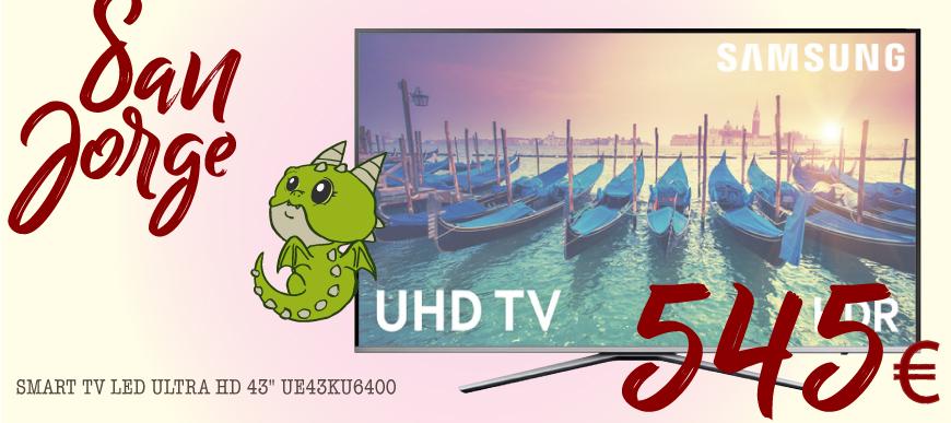 Televisor samsung 43ku6400
