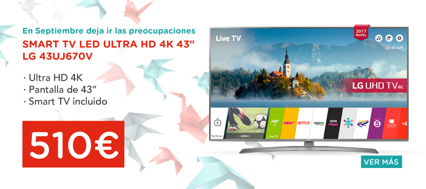 oferta televisor lg