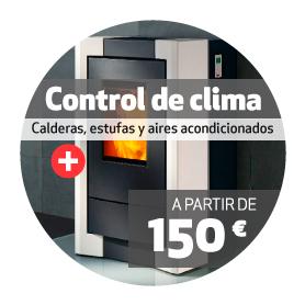 instalación control de clima