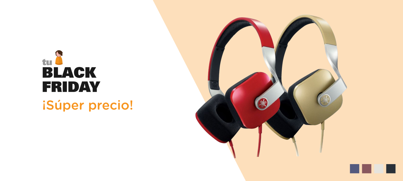 oferta black friday cascos yamaha colores