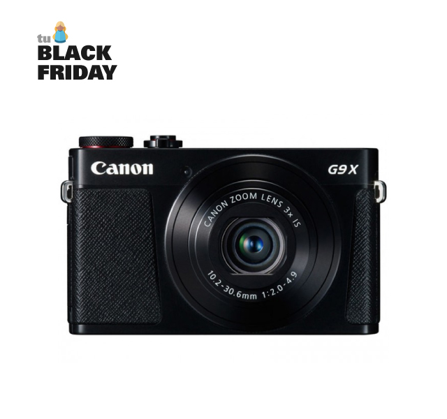 oferta black friday camara powershot g9x