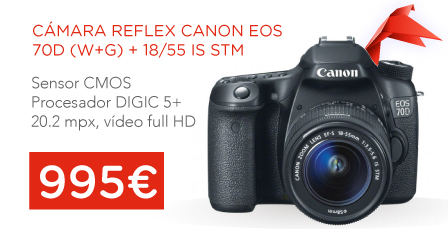 oferta cámara canon