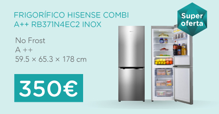 oferta frigorífico hisense