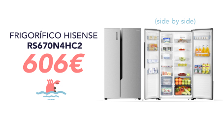 oferta frigorífico side by side
