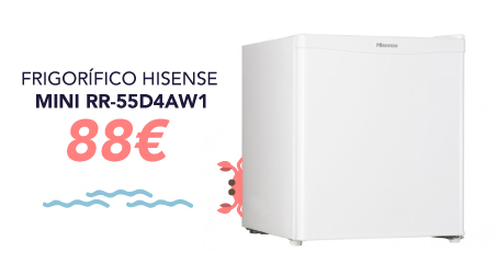 oferta frigo hisense mini