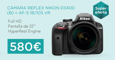 oferta cámara nikon