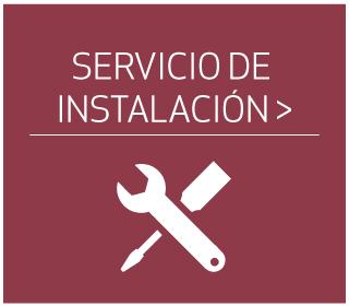 servicio de instalación