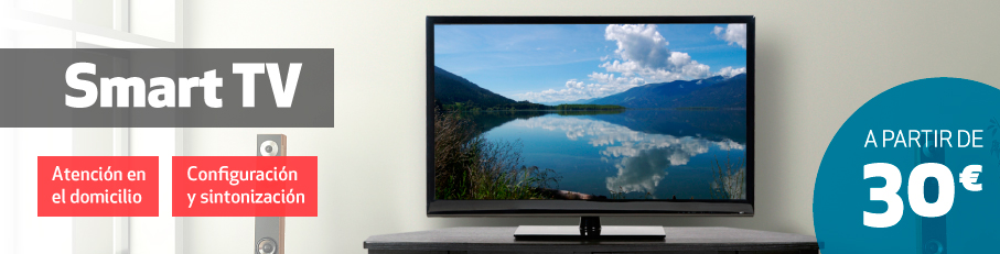 Instalacion Smart tv