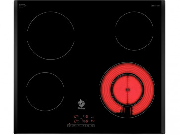 PLACA VITROCERAMICA BALAY 3EB721LR 60CM 4 ZONAS DE COCCION MARCO BISELADO