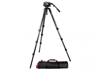 KIT VIDEO MPRO + ROTULA 504HD,536K MANFROTTO