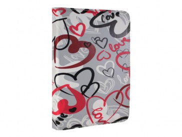 "FUNDA CRAZY HEARTS COVER STAND 9.7-10.1"" E -VITTA"