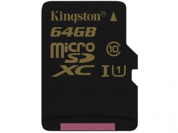 MICRO SDXC 64GB CLASE 10 UHS-I SDCA10/64GBSP KINGSTON